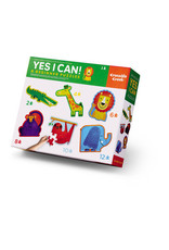 Crocodile Creek Yes I Can! Beginner Puzzles Jungle 2 to 12-pc Puzzles