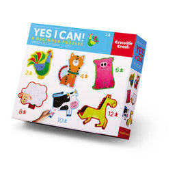 Crocodile Creek Yes I Can! Beginner Puzzles Barn 2 to 12-pc Puzzles