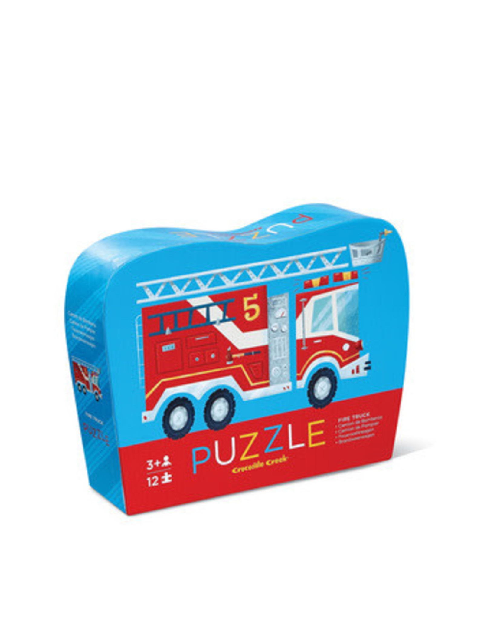 Crocodile Creek Mini Puzzle Fire Truck 12-pc Puzzle