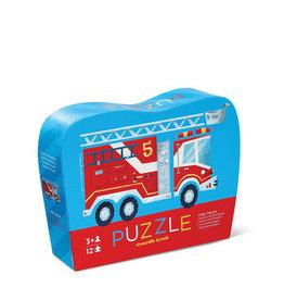 Crocodile Creek Mini Puzzle Fire Truck 12-pc Puzzle