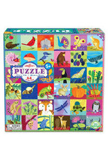 eeBoo Portraits of Nature 64-pc Puzzle