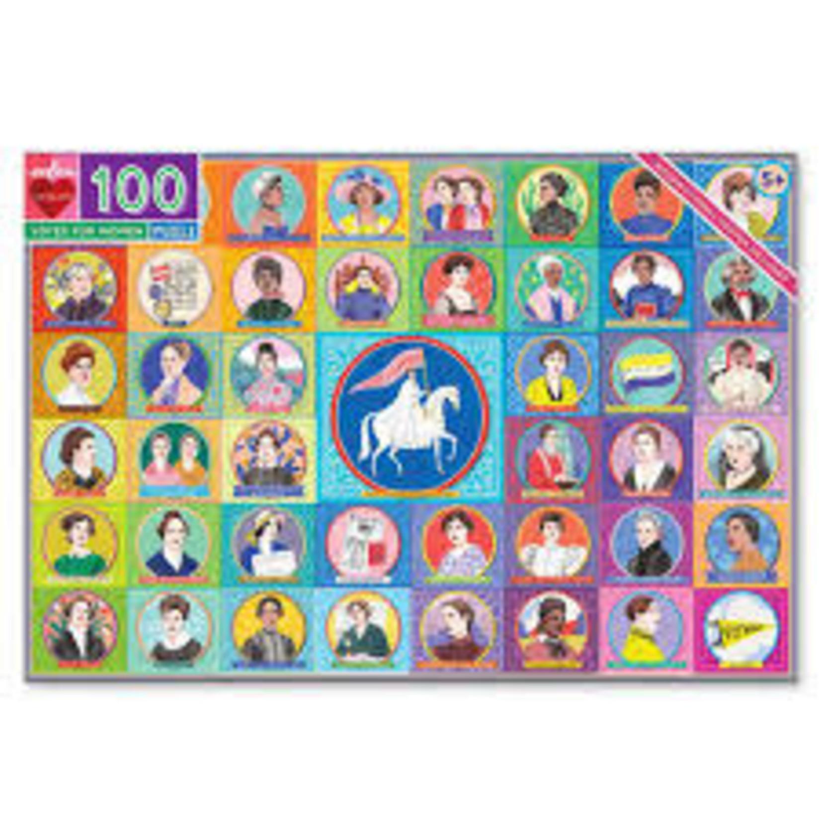 Eeboo Votes for Women 100-pc Puzzle