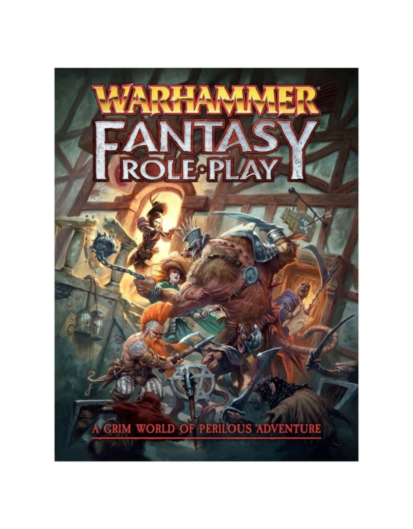 Cubicle 7 Warhammer Fantasy RPG 4e Rulebook