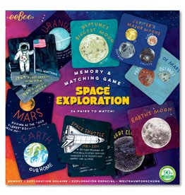 eeBoo Space Exploration Memory Game