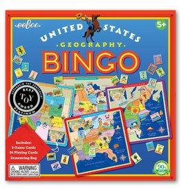 eeBoo United States Geography Bingo
