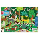 Eeboo Dogs at Play 100 - Piece jigsaw puzzle