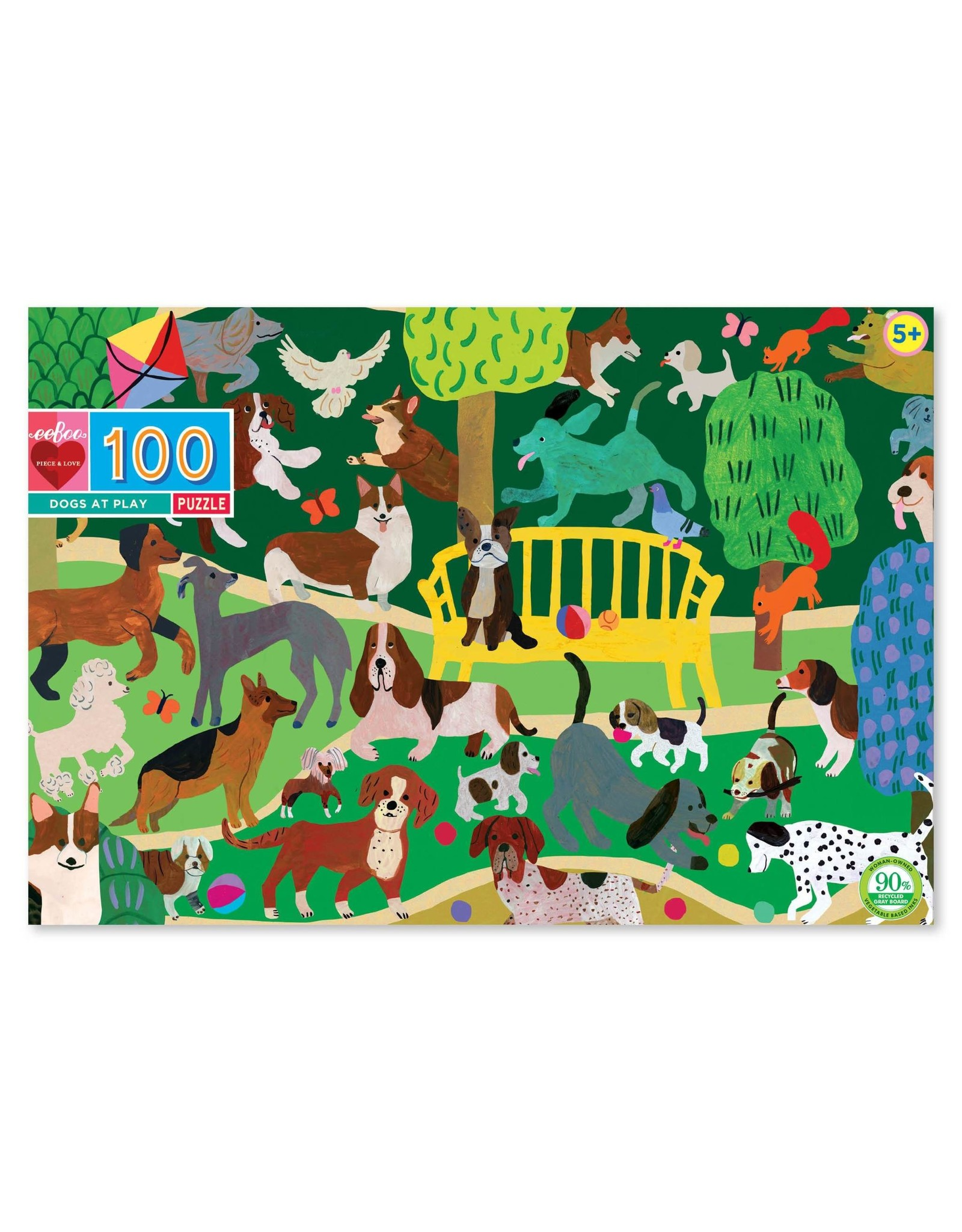 eeBoo Dogs at Play 100p