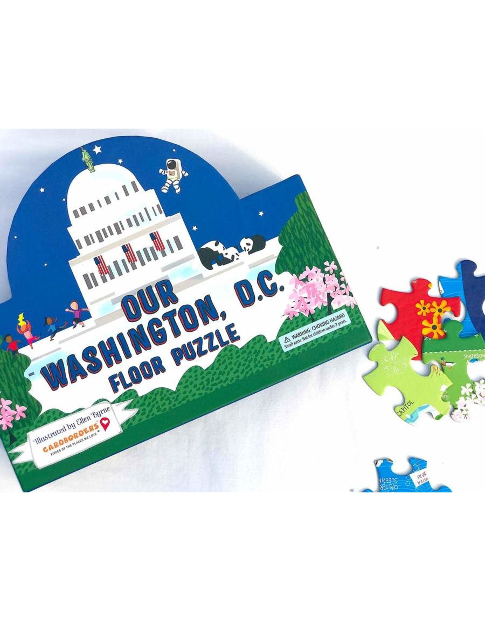 Our Washington DC Floor Puzzle (100 pieces)