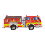 Melissa and Doug Giant Fire Truck Floor Puzzle (24p)