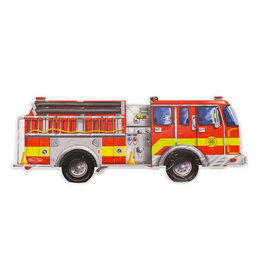 Melissa and Doug Giant Fire Truck 24-pc Floor Puzzle