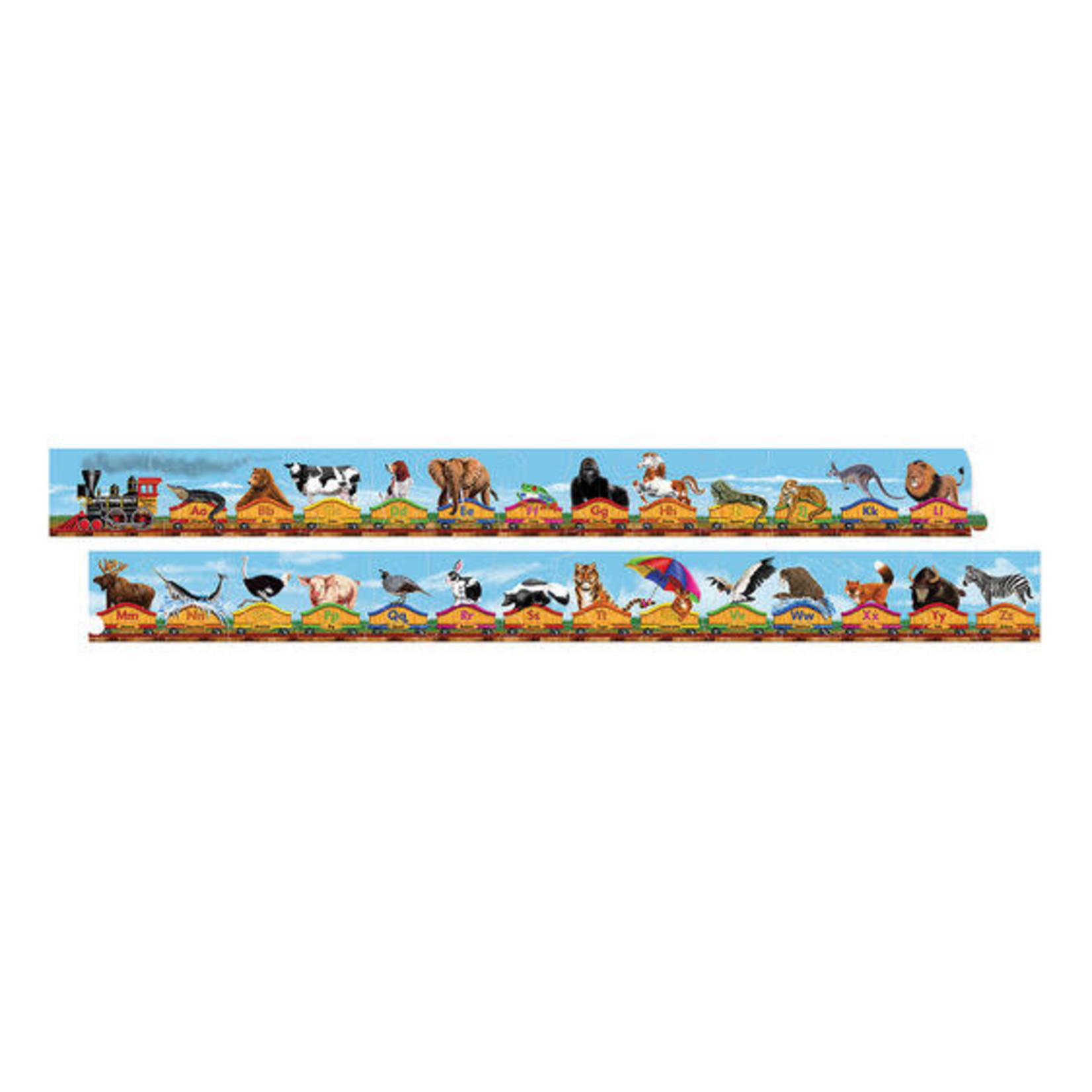 Melissa and Doug Alphabet Train Floor Puzzle (28 pieces)