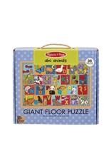 Melissa and Doug ABC Animals 35-pc Giant Floor Puzzle