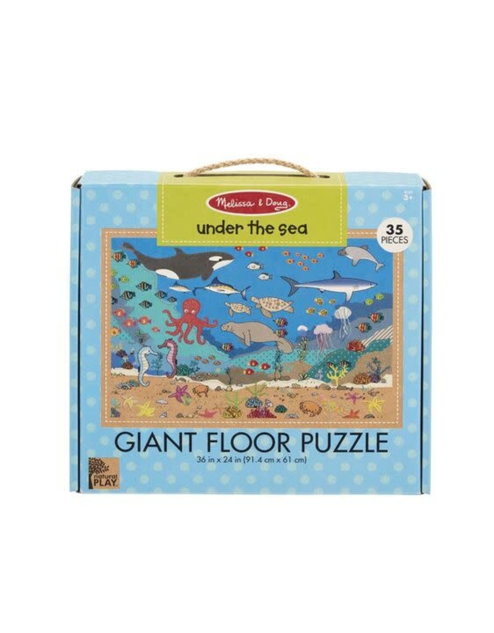 Melissa and Doug Under the Sea Giant Floor Puzzle (35 pieces)