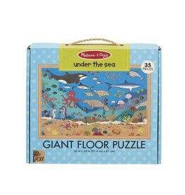 Melissa and Doug Under the Sea Floor Puzzle 35p