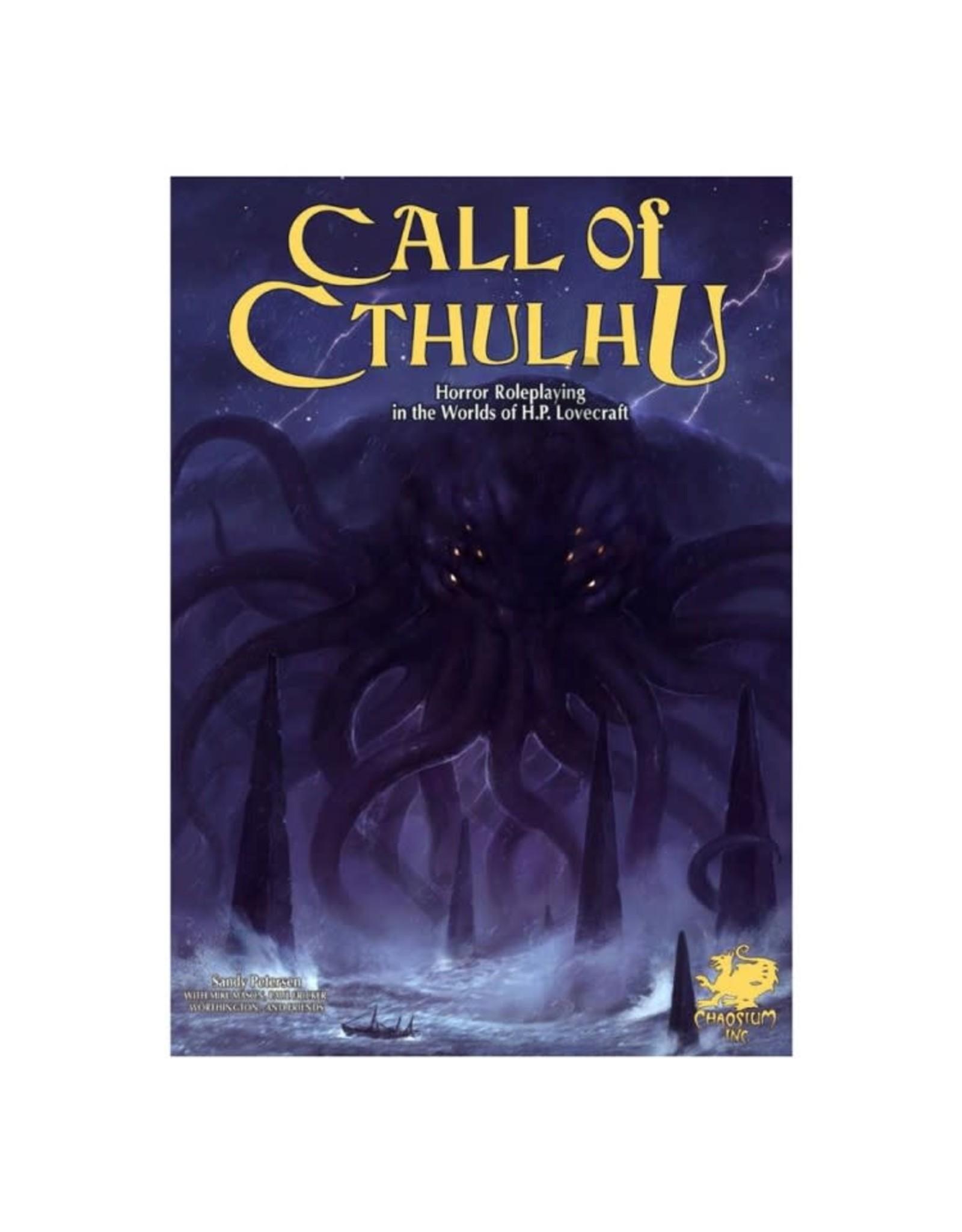 Chaosium Call of Cthulhu: Keeper Rulebook