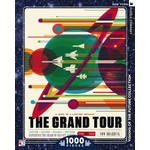 New York Puzzle Company The Grand Tour Jigsaw Puzzle (1000p)