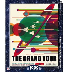 New York Puzzle Company The Grand Tour 1000p