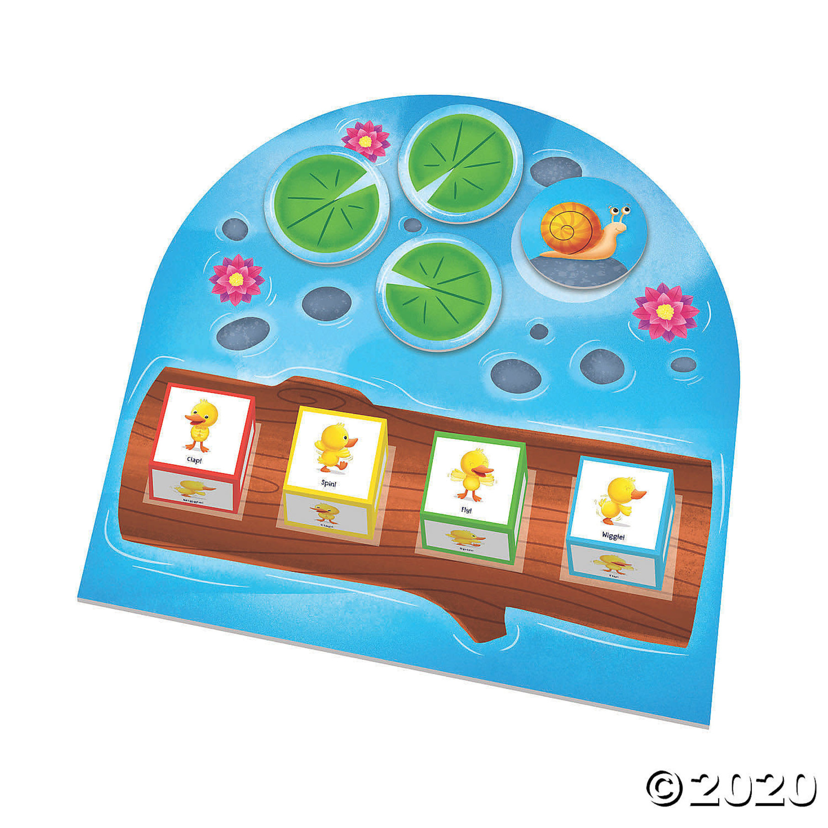 Peaceable Kingdom Duck Duck Dance! The Move and Groove Game