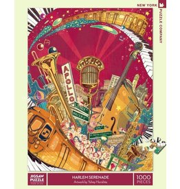 New York Puzzle Company Harlem Serenade 1000p