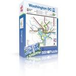 New York Puzzle Company DC Metro - 500 Piece Jigsaw Puzzle