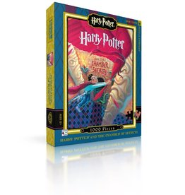 New York Puzzle Company HP Chamber of Secrets - 1000 Piece jigsaw puzzle