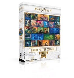 New York Puzzle Company Harry Potter Collage 1000p