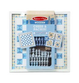 Chess & Pachisi Wooden Blue