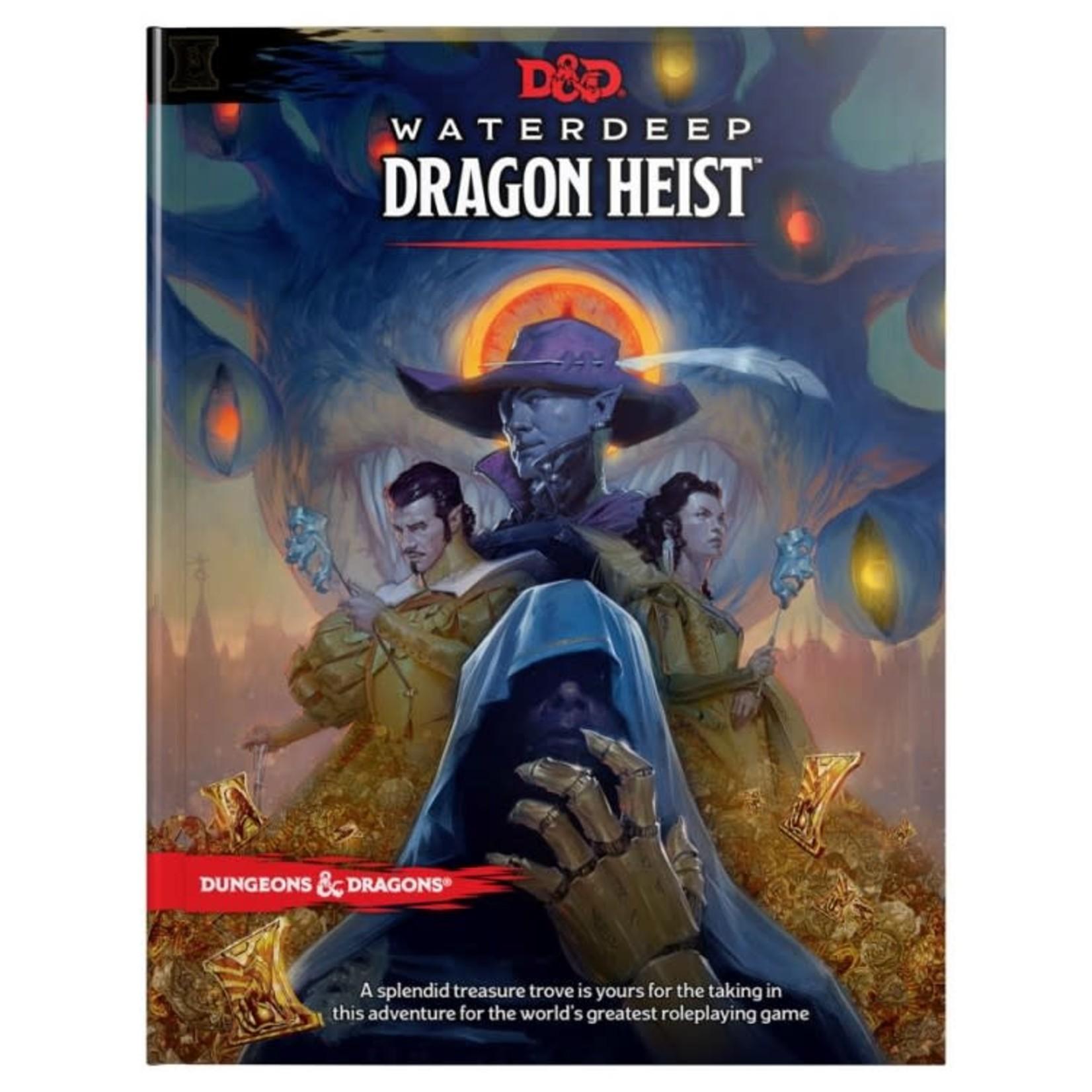 Dungeons & Dragons D&D 5e Waterdeep Dragon Heist