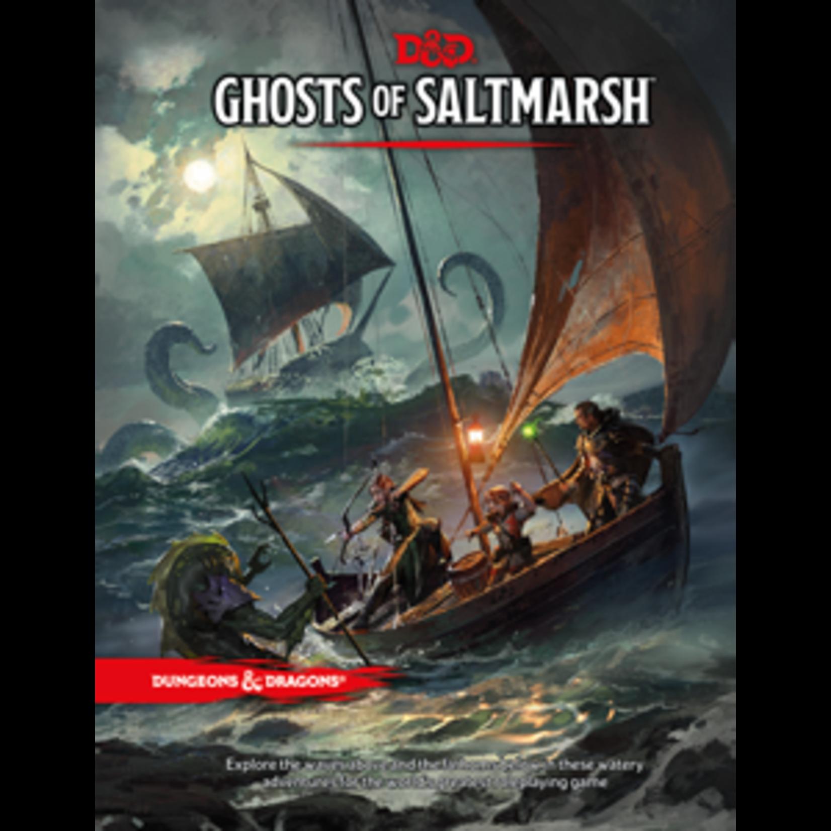 Dungeons & Dragons D&D 5e Ghosts of Saltmarsh