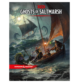 Dungeons & Dragons D&D 5e Ghosts of Saltmarsh