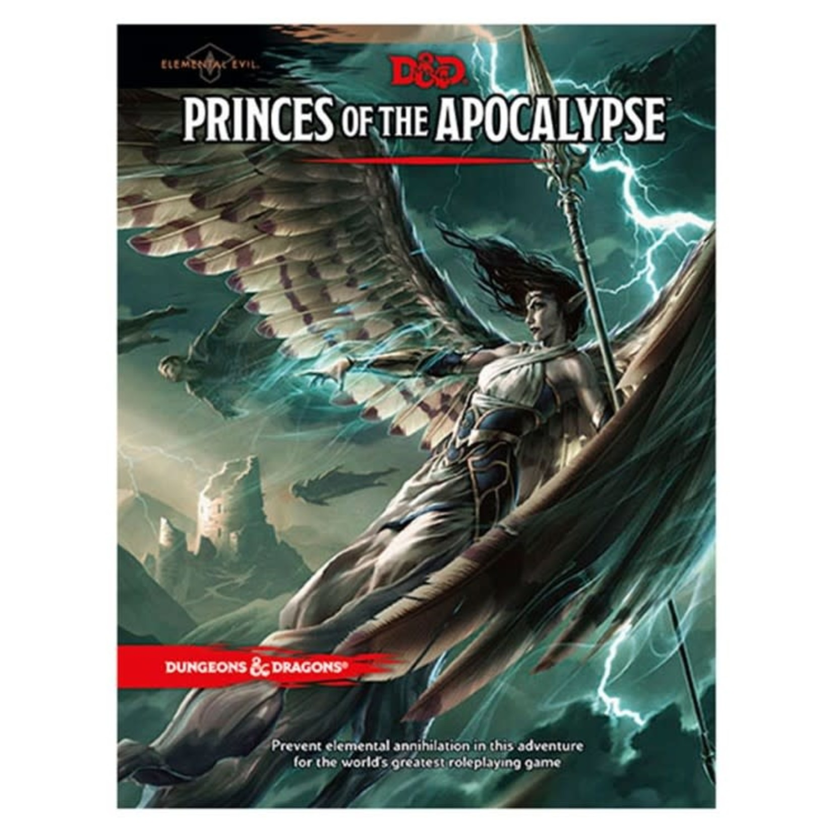 Dungeons & Dragons Dungeons & Dragons 5th Edition Princes of the Apocalypse