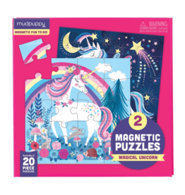 Mudpuppy Magical Unicorn Magnetic 2x20p