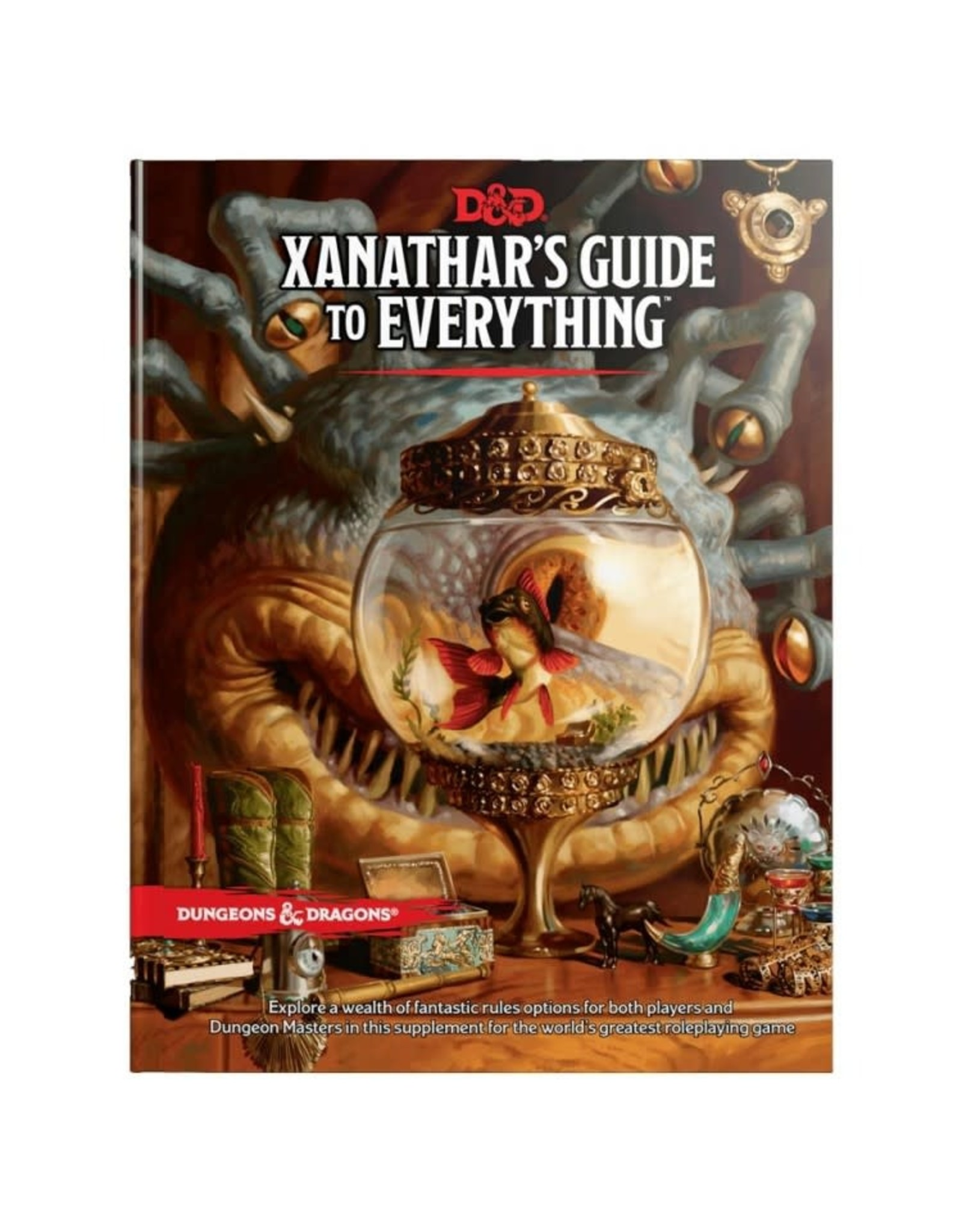 Dungeons & Dragons D&D 5e Xanathar's Guide to Everything
