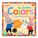 Eeboo Puzzle Pairs Preschool Colors