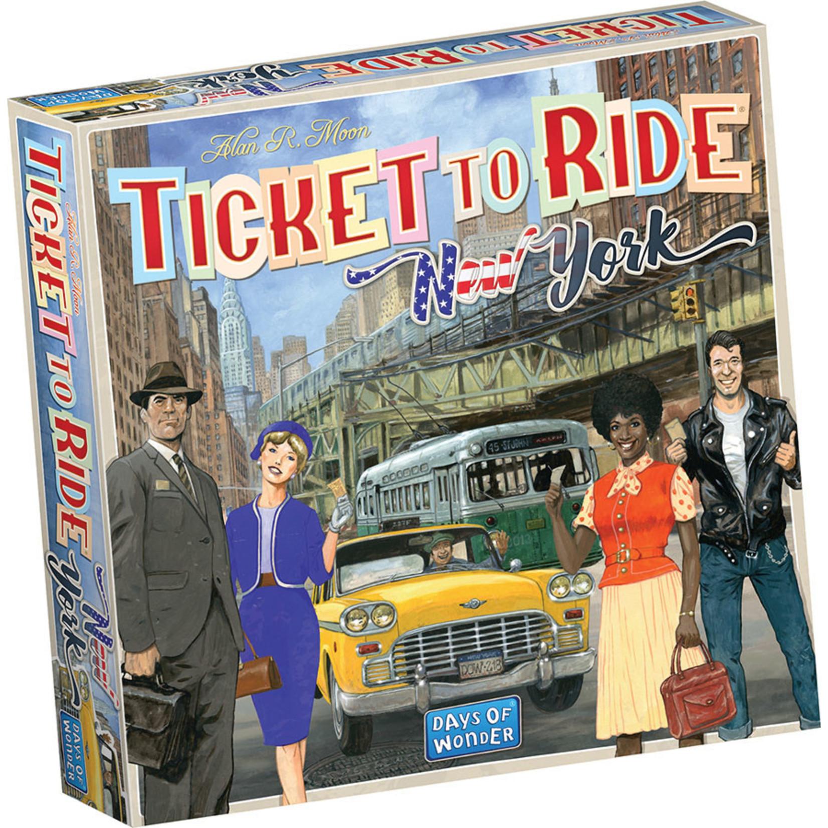 Days of Wonder Ticket to Ride Express New York