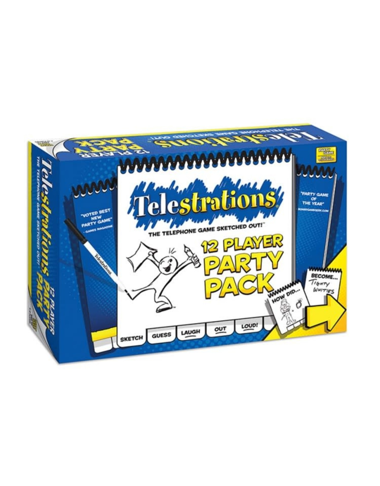 Usaopoly Telestrations Party Pack (12 Players)