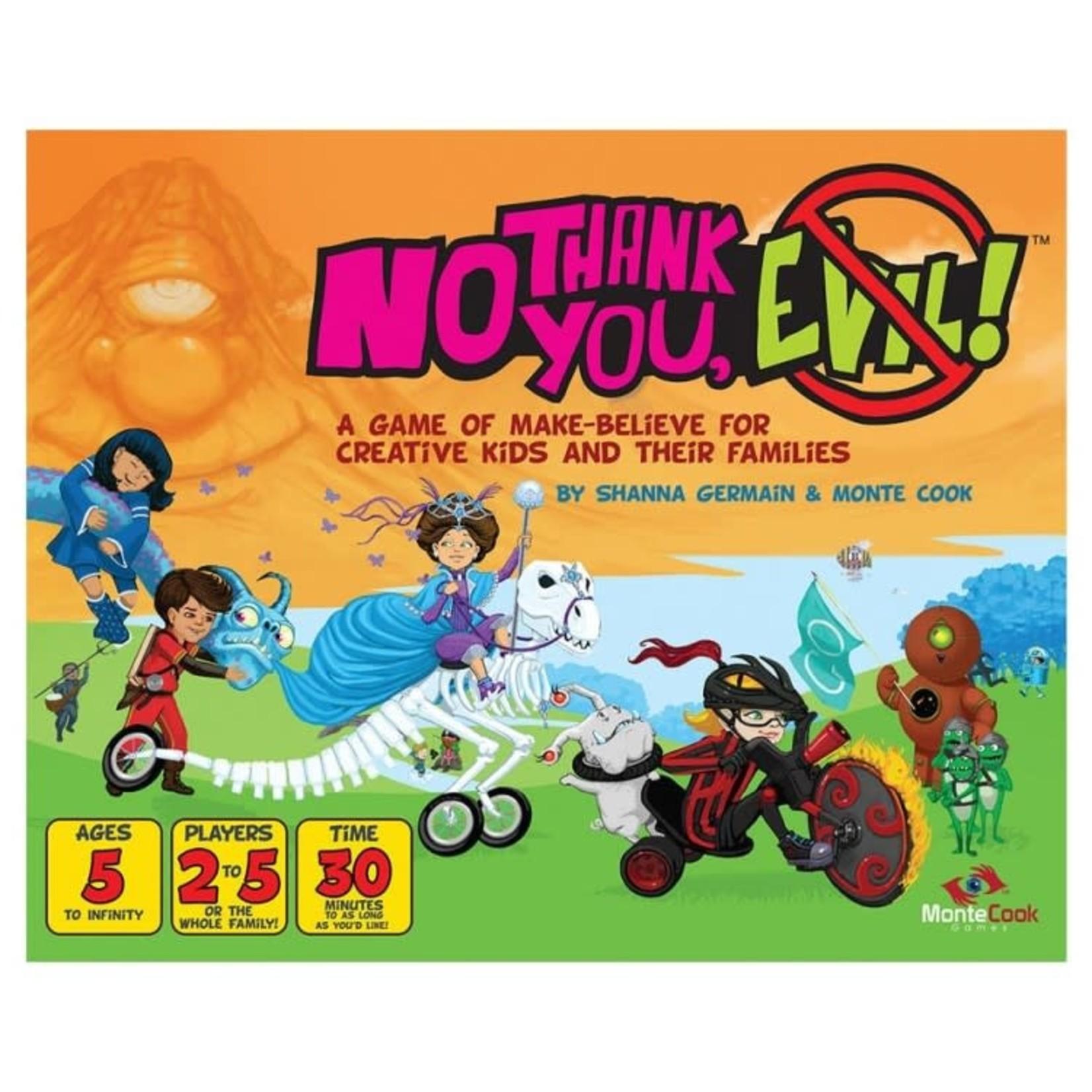 Monte Cook Games No Thank You, Evil!