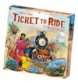 Days of Wonder Ticket to Ride India Map