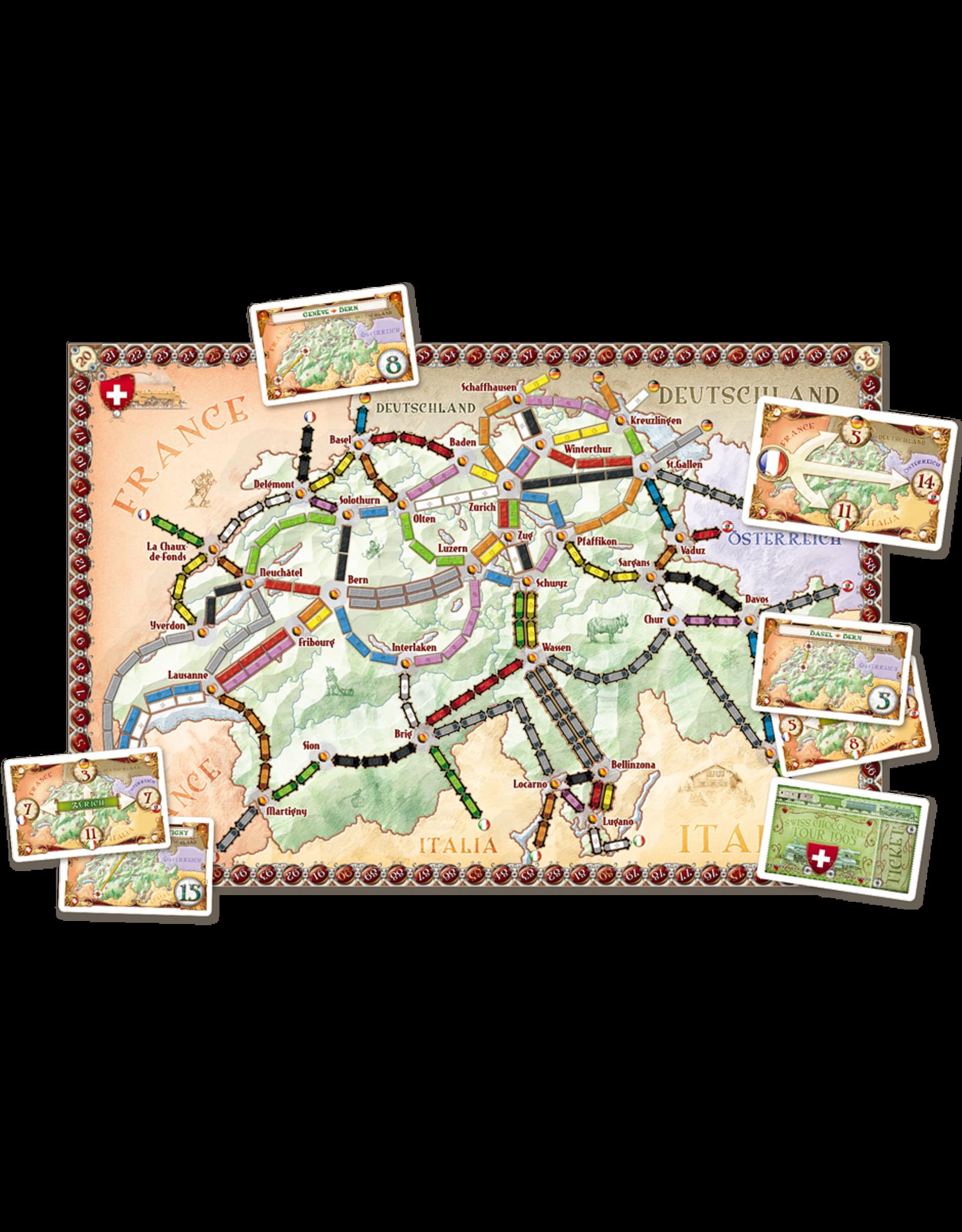Days of Wonder Ticket to Ride Map 2 India & Switzerland