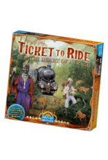 Days of Wonder Ticket to Ride Map 3 Heart of Africa