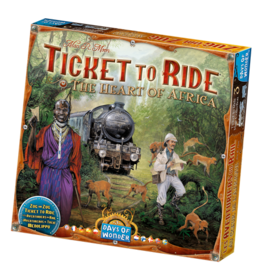 Days of Wonder Ticket to Ride Heart of Africa Map Collection