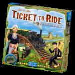 Days of Wonder Ticket to Ride Map 4 Nederland