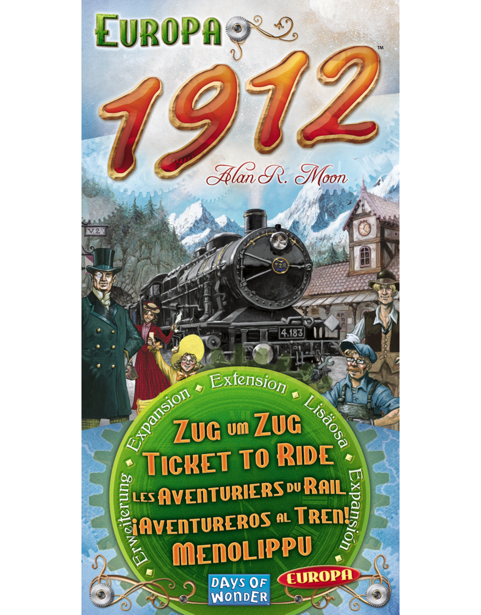 Days of Wonder Ticket to Ride Europa 1912