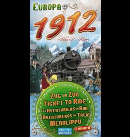 Days of Wonder Ticket to Ride Europa 1912