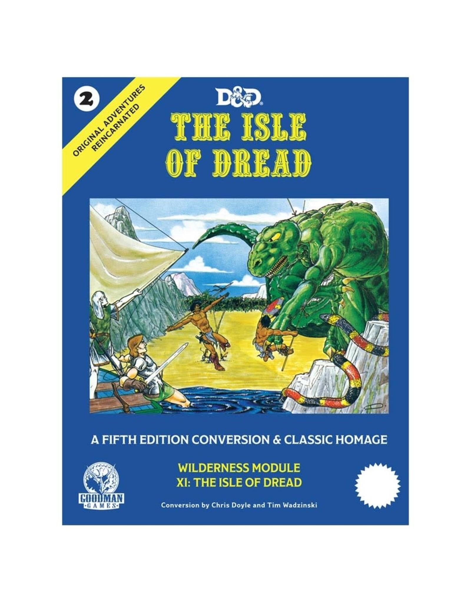 Goodman Games D&D 5e Original Adventures Reincarnated 2: The Isle of Dread