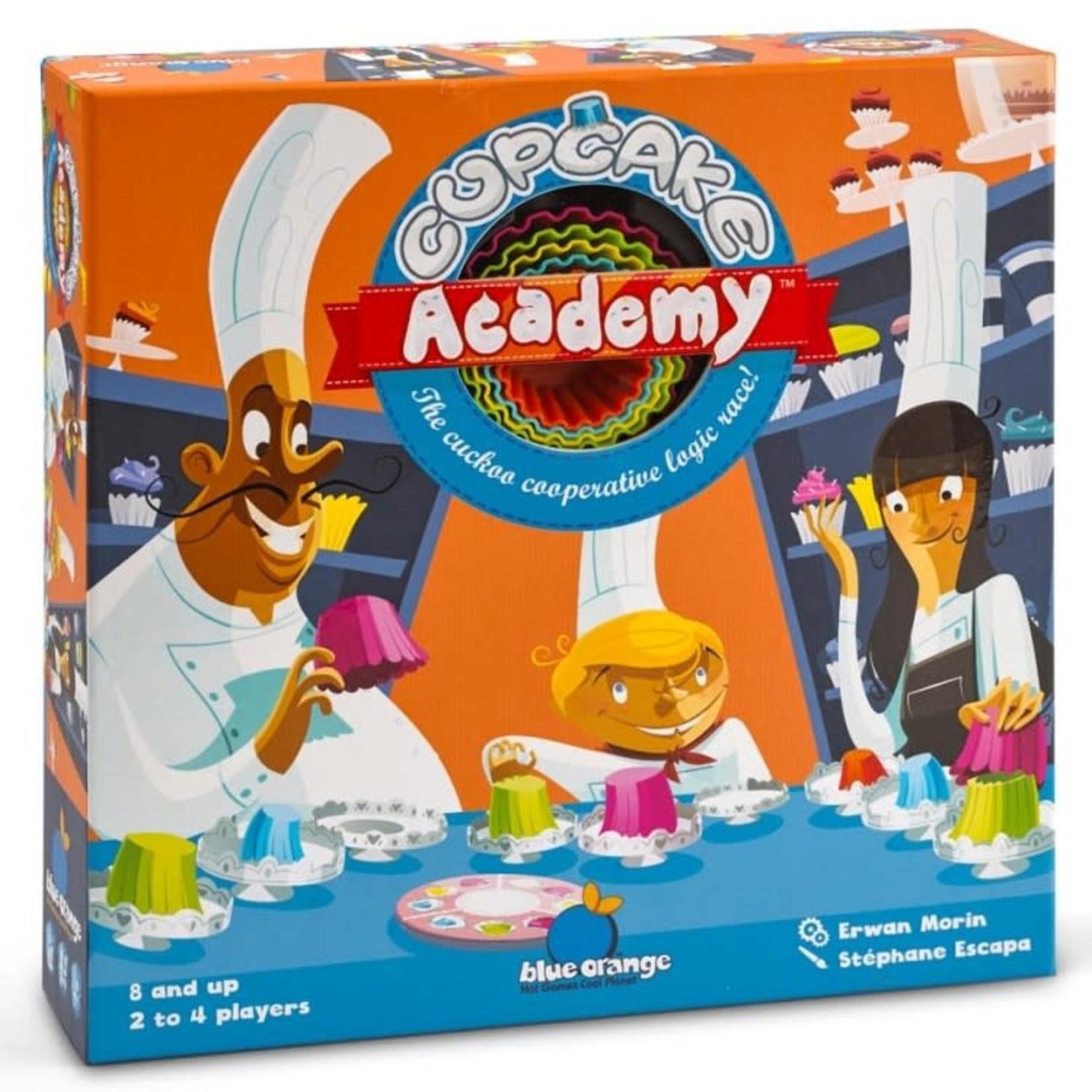 Blue Orange Cupcake Academy