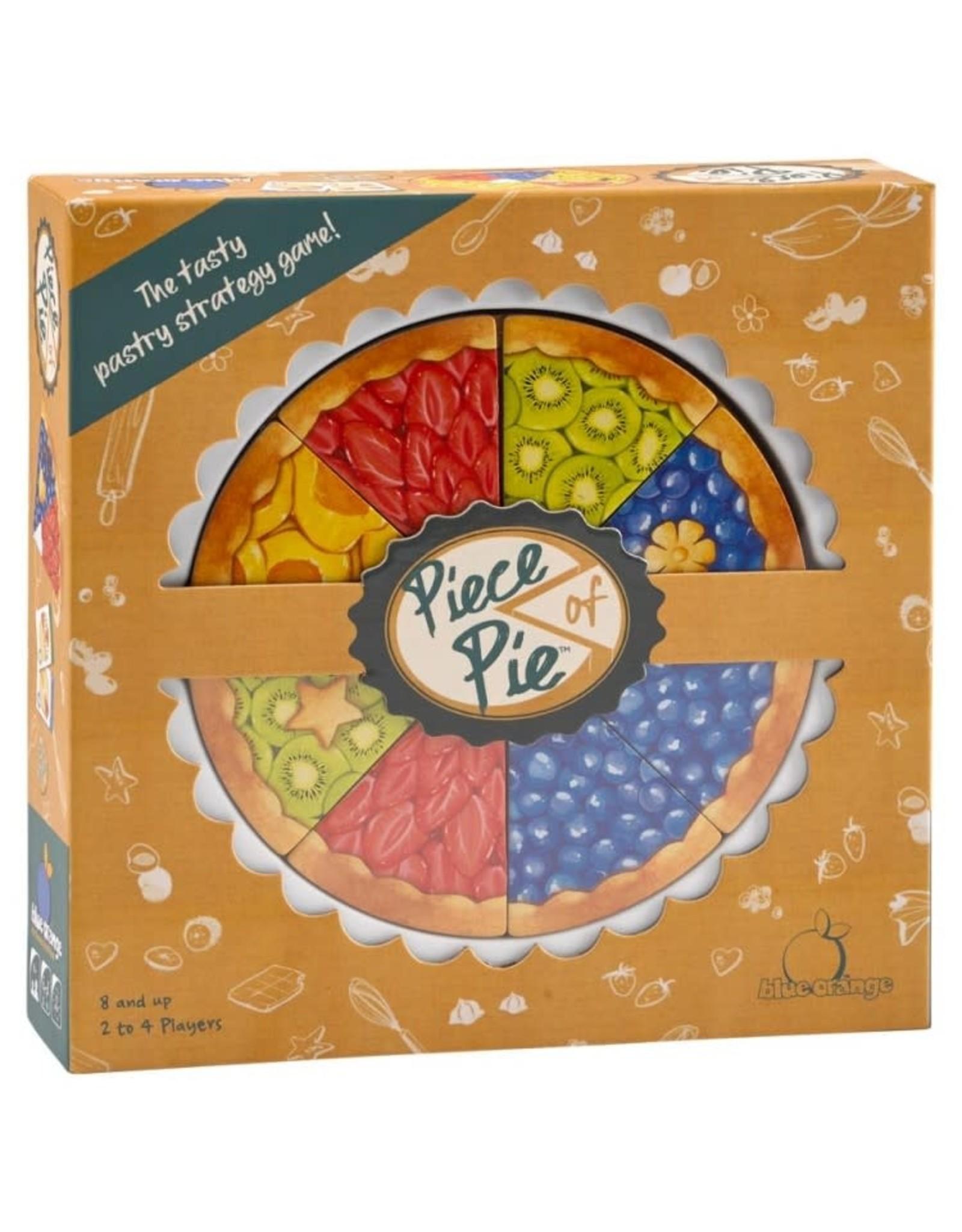 Blue Orange Piece of Pie