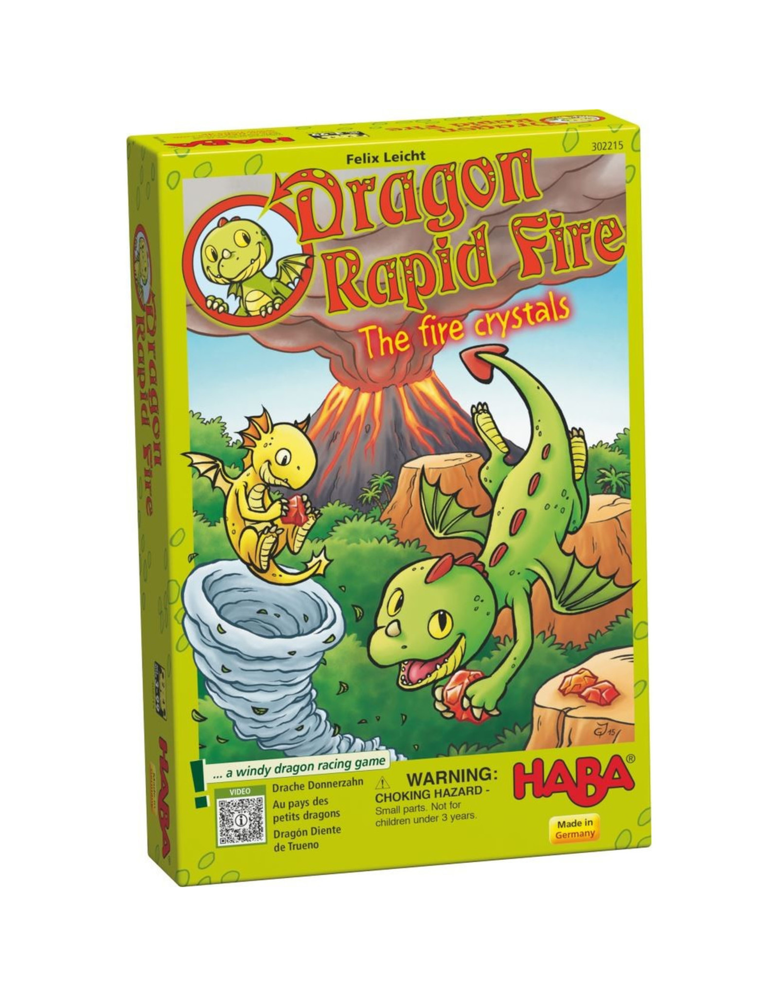 Haba Dragon Rapid Fire: The Fire Crystals