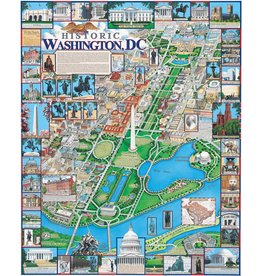 White Mountain Puzzles Washington, DC 1000p