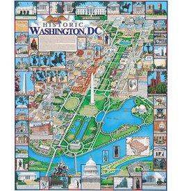 White Mountain Puzzles Washington, DC 1000p
